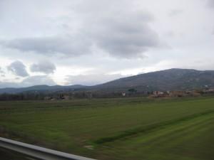 En route to Firenze!