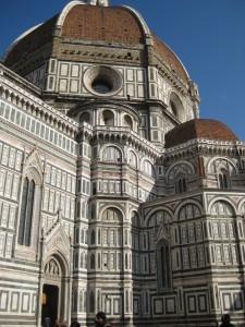 The Duomo! The Cathedral of Santa Maria del Fiore.