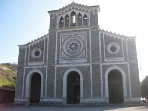 We finally got to the top and reached this church - Santa Margherita.  It is beautiful and peaceful inside.