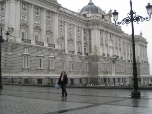 At the Palacio Real!