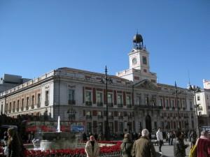 In Puerta del Sol!
