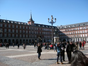 In Plaza Mayor!