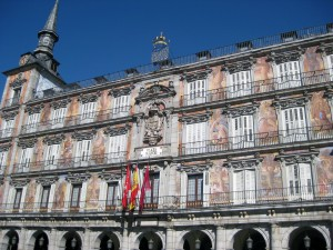 Again, Plaza Mayor.