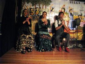 The three dancers.