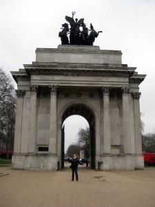 The Wellington Arch!
