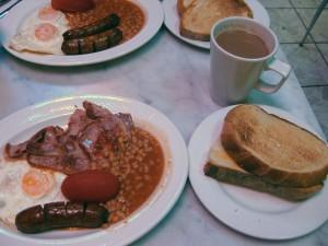 My full English breakfast!