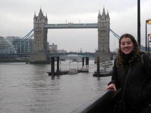The Tower Bridge!