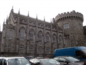 Dublin Castle - the first site of the tour.