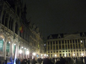 At Grand Place!