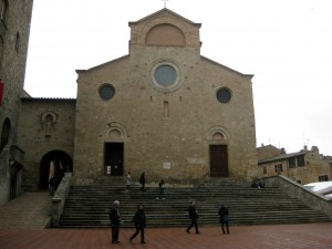 The Duomo of San Gimignano.