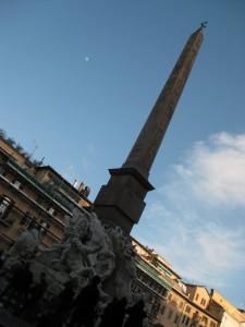 Again in Piazza Navona.