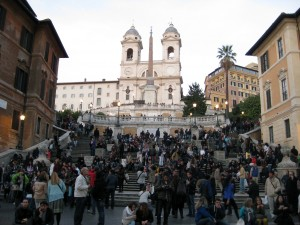 The Spanish Steps!