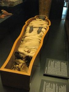 A mummy!