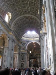 Inside St. Peter's Basilica!