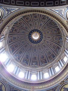 The dome of the basilica!