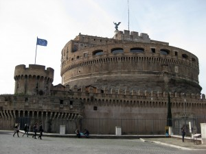 The Castle of Saint Angelo.