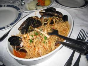 Our spaghetti al mare!