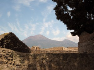 Vesuvius from afar!