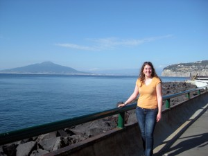 Me and Vesuvius!