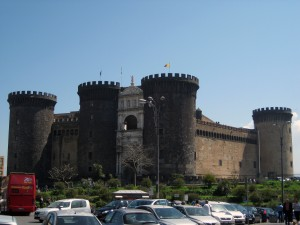 Castel Nuovo (New Castle) - it was built after the egg one!